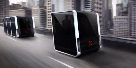 Avec ce concept, la voiture sans chauffeur prend déjà un coup de vieux | Remembering tomorrow | Scoop.it