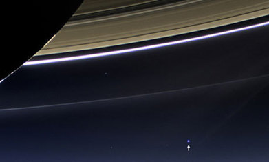 Earth captured in rare photograph from Saturn spacecraft Cassini | Science, Technology & IT curated by CrowdPatch | Scoop.it