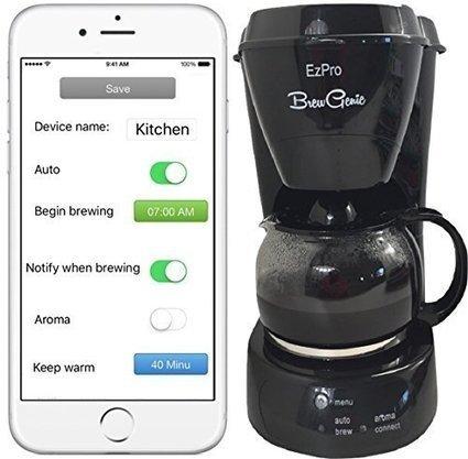 Technivorm moccamaster 59691 kb 741 ao 10 cup 1 brewgenie bg120 smart coffee maker best food processor reviews scoop fandeluxe Image collections