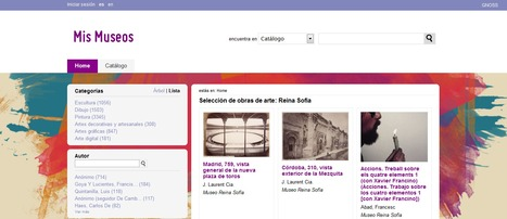 MIS MUSEOS: Catálogo de obras de arte. | Geografía e Historia | Scoop.it
