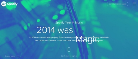 Spotify Year In Music | music innovation | Scoop.it
