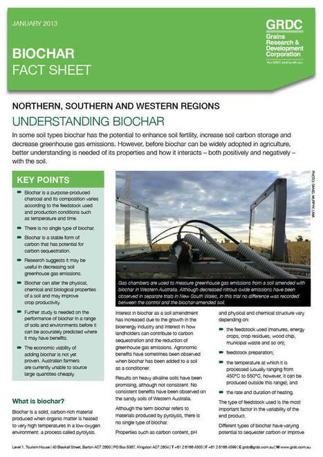 Biochar Factsheet - Grains Research & Development Corporation | BioChar | Scoop.it