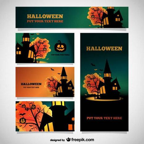 Vectores de Halloween gratuitos   Recursos   Scoop.it