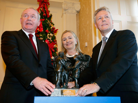 As Northern Ireland extremists threaten fragile peace, Clinton urges vigilance ... - National Post | The Indigenous Uprising of the British Isles | Scoop.it