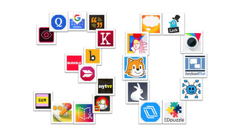 Librarian Approved: 30 Ed-Tech Apps to Inspire Creativity and Creation | 21st century Learning Commons | Scoop.it
