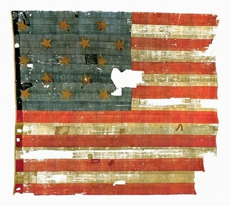 The Invisible Blue-Jean Particles in the Original Star-Spangled Banner | TJMS United States History | Scoop.it