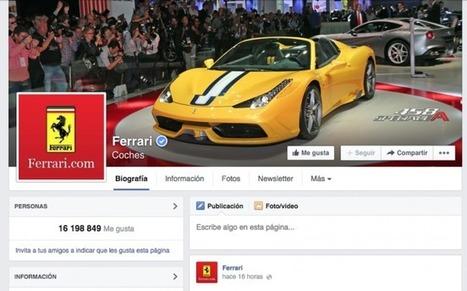Ferrari, a juicio tras supuestamente apropiarse de la página de Facebook creada por un fan | Sentient Identity | Scoop.it
