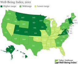 Gallup Well-Being Map « Smart Growth Maryland | AP Human Geography, WHS 2012-2013 | Scoop.it