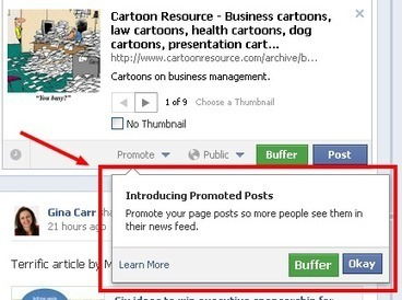 Promoted Posts for Facebook are Great News for Business Owners | Gina Carr | Small Business - Social & Tech | Scoop.it