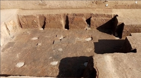 Rare basement, fireplace excavated at 2,400-year-old palace in NW China | Centro de Estudios Artísticos Elba | Scoop.it