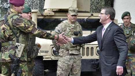 Ash Carter confirms US to put heavy weapons in eastern NATO nations over Russia provocations | Broad Canvas | Scoop.it