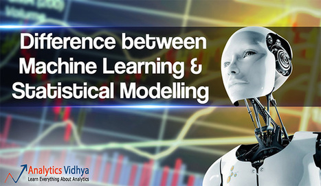 Difference between Machine Learning & Stati