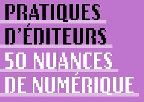 Synthèse de l'étude : Pratiques d'éditeurs, 50 nuances de numérique   L'édition en numérique   Scoop.it