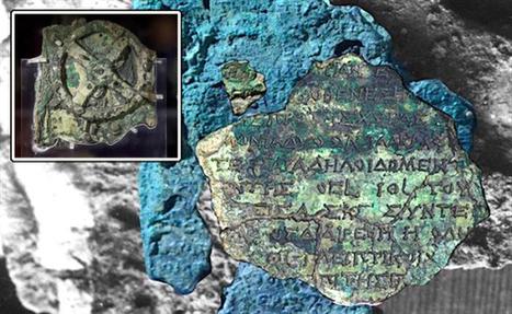 Les textes sur le Mécanisme d'Anticythère ont été déchiffrés   Monde antique   Scoop.it