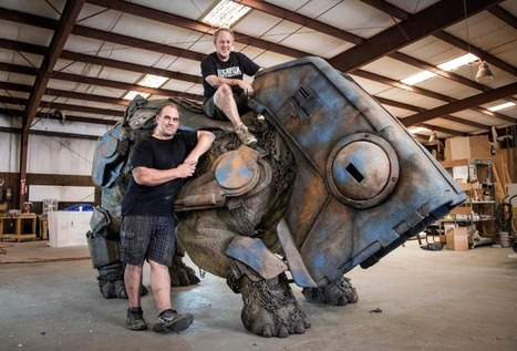 The Team Behind Roxy the Rancor Reveals Their Latest Amazing Star Wars Creation | HiddenTavern | Scoop.it