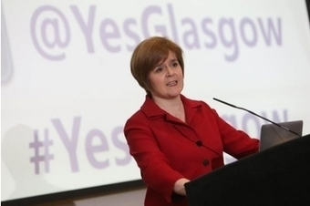 'Yes' Glasgow event is hailed a huge success | Evening Times | Scottish Constitution | Scoop.it
