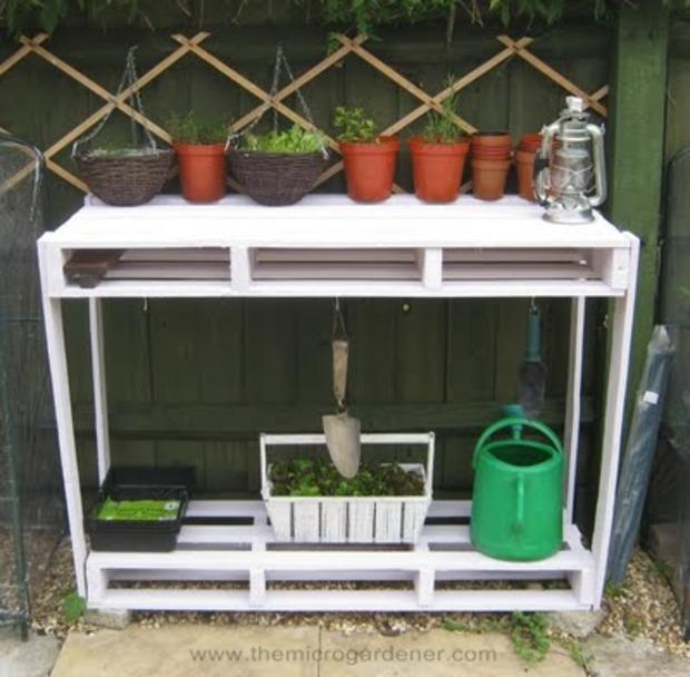 20 idées de recyclage de palettes pour le jardin | La Revue de Technitoit | Scoop.it