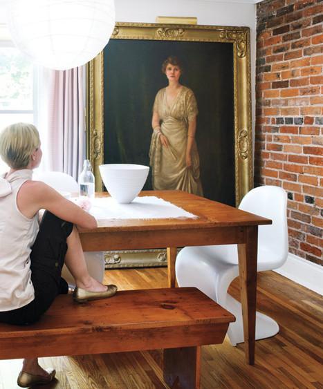 Visite déco : une vieille maison à la décoration moderne | DecoCrush blog déco, idées déco | décoration & déco | Scoop.it