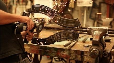 Armas del narco convertidas en instrumentos musicales | Art and Spaces | Scoop.it