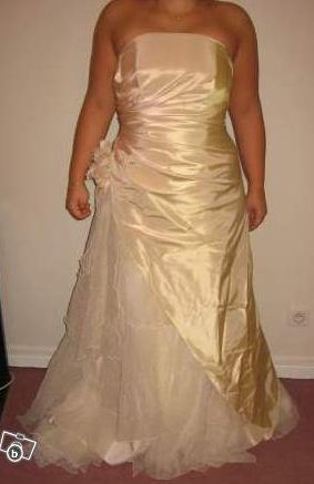 robe de mariage illitulle couleur champagne ave. Black Bedroom Furniture Sets. Home Design Ideas