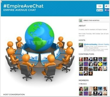 Empire Avenue Twitter chats Thursday at 7pm UK and 7pm EST #EAvMissions #EmpireAveChat | Ultimate Empire Ave. Allstars | Scoop.it