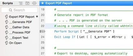 JavaScript-driven PDF Reports in FileMaker usin