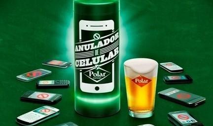 Polar invente la bière qui brouille les smartphones   Experience Transmedia   Transmedia news…   Experience Transmedia   Scoop.it