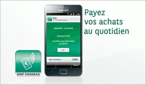 BNP Paribas fait la promotion du m-banking et du paiement sans contact - Emarketing | rfid | Scoop.it