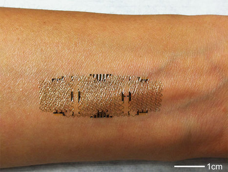This Electronic Temporary Tattoo Will Soon Be Tracking Your Health   healthcare technology   Scoop.it