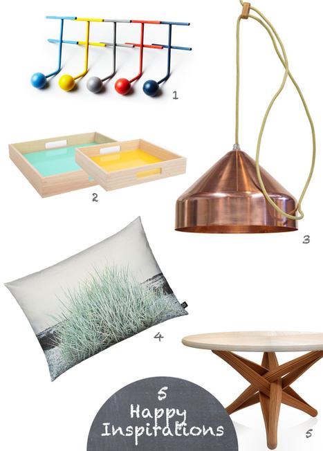 Happy Interior Blog: 5 Happy Inspirations: Refresh Your Interiors | Interior Design & Decoration | Scoop.it