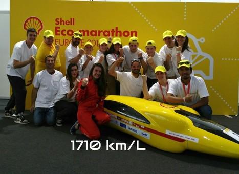 Le Team Calisson - IUT Aix-Marseille sur le podium de l'Eco Marathon Shell ! | On parle des IUT | Scoop.it