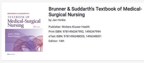 Brunner And Suddarth Pdf