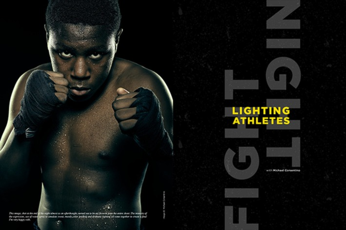 Fight Night: Lighting Athletes with Michael Corsentino - Behind the Shutter | Through the Lens | Scoop.it
