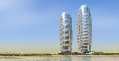 Intelligent Shading System at Abu Dhabi's Al Bahar Towers | sustainable architecture | Scoop.it