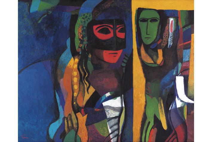 Major retrospective for Iraqi artist Dia Al-Azzawi on view in Qatar | Art Daily | Kiosque du monde : Asie | Scoop.it