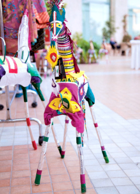 Women empowerment: Handmade fabrics, accessories from Bahawalpur exhibited - The Express Tribune | Well Loved Woman | Scoop.it