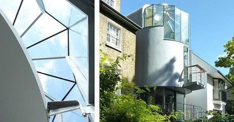 Architecture in architecture design innovation scoop ultra narrow wood lane house looks like a ship wedged between londons brick buildings malvernweather Choice Image