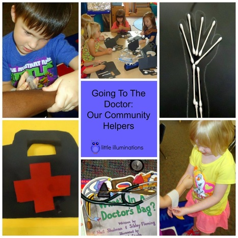 little illuminations: Going To The Doctor: Our Community Helpers | playbased learning | Scoop.it