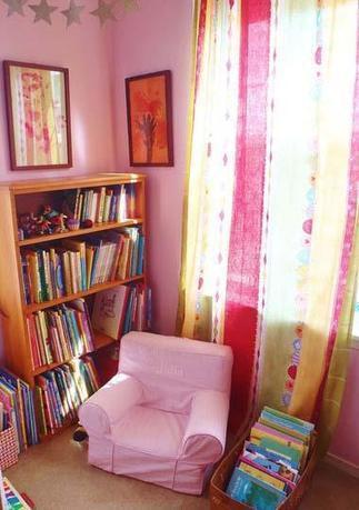 Cómo crear un rincón de lectura en la habitación infantil | FAMILIAS LECTORAS | Scoop.it
