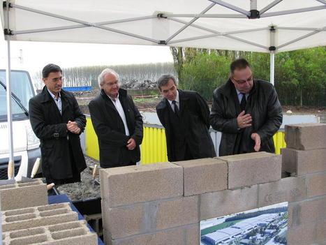 Centre logistique LIDL: la première pierre a été posée sur le site de La Chapelle-d'Armentières | Logistique et Transport GLT | Scoop.it