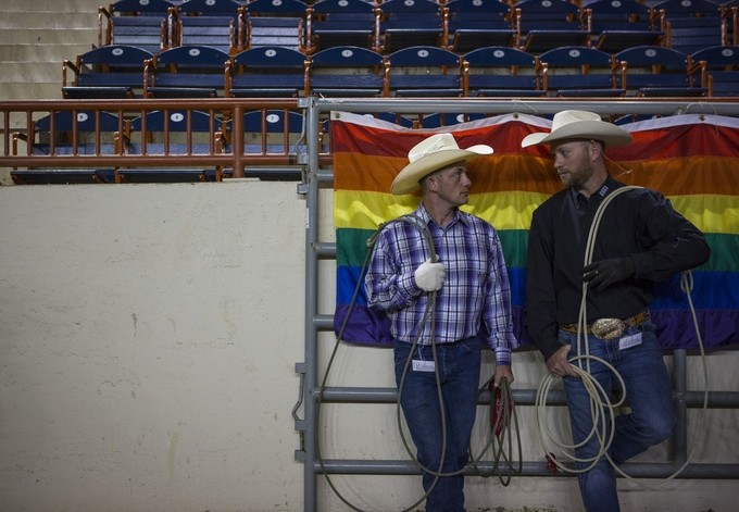 Love and marriage at the gay rodeo