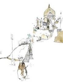 buildings | Sketchbook | George Butler | illustration | Scoop.it