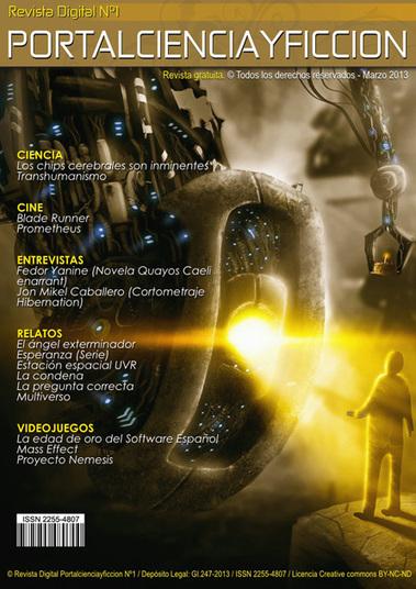Revista digital portalcienciayficcion Nº1   Ciencia ficción, fantasía y terror... en Hispanoamérica   Scoop.it