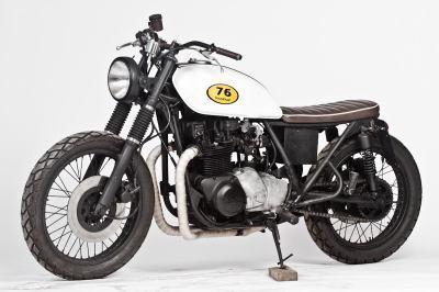 Kawasaki KZ750B Street Tracker by The 76Hundred Garage | vintage motos | Scoop.it