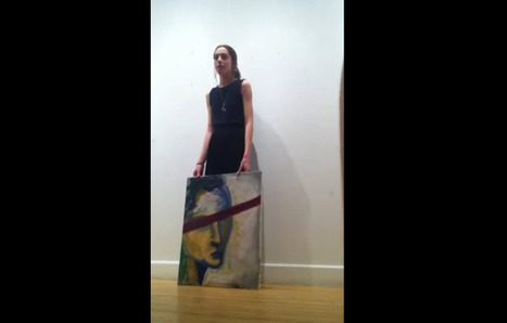Artist stomps on her own painting over criticism | Reading, Writing, and Thinking | Scoop.it