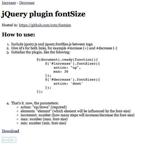 Best jQuery Plugins of the Week #websitedesign | Wordpress Web Design | Scoop.it