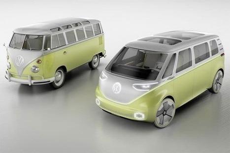 Volkswagen ID Buzz : le combi électrique et autonome se dévoile à Détroit | Chronique d'un pays où il ne se passe rien... ou presque ! | Scoop.it