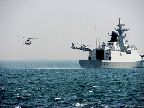 Chinese Warships Prepared To Fire On The Japanese Navy Twice | Politics and Business | Scoop.it