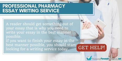 pharmacy personal essay