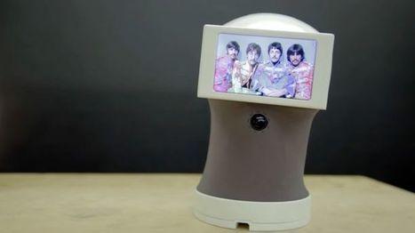 Peeqo, le robot qui vous répond entièrement avec des GIF | Une nouvelle civilisation de Robots | Scoop.it